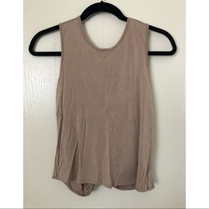 XS open-back top